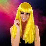 Cabaret Wig Yellow Long